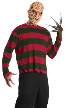 Freddy Krueger Set - Adult Costume