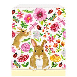 Easter Bunny Paper Party Bags - 21cm