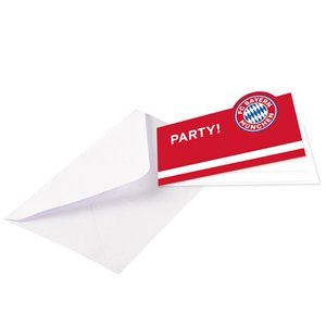 FC Bayern Munich Party Invitations
