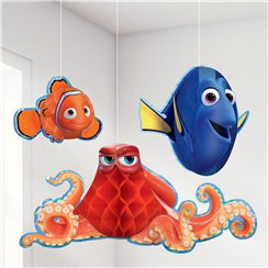 Finding Dory Honeycomb Decorations
