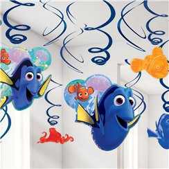 Finding Dory Hanging Swirls Decorations
