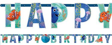 Finding Dory Add An Age Letter Banner - 1.4m