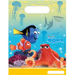 Finding Dory Party Bags - Plastic Loot Bags