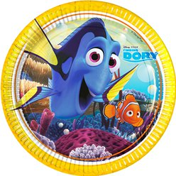 Finding Dory Plates - 23cm Paper Party Plates