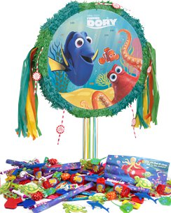 Finding Dory Drum Pull Piñata Kit