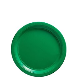 Green Plates - 18cm Paper Party Plates