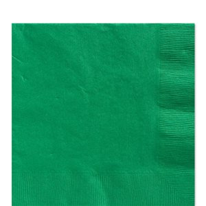 Green Luncheon Napkins - 33cm Square 2ply Paper