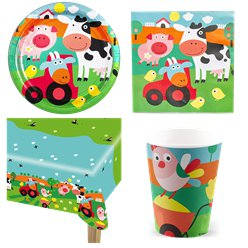 Farm Fun Party Pack - Value Pack for 8