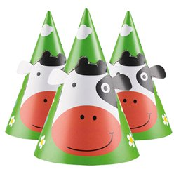 Farm Fun Party Hats