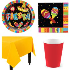 Mexican Fiesta Party Pack - Value Pack For 8
