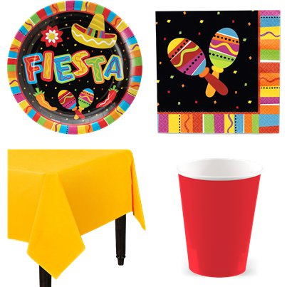 Mexican Fiesta Value Party Pack