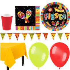 Mexican Fiesta Party Pack - Deluxe Pack for 16