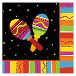 Fiesta Party Luncheon Napkins - 33cm