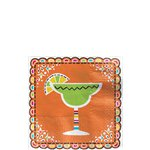 Mexican Fiesta Cocktail Napkin - 25cm 2-Ply Beverage Napkin