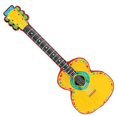 Mexican Fiesta inflatable Mariachi Guitar