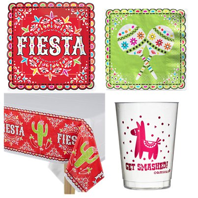 Mexican Fiesta Party Pack For 18