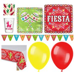 Mexican Fiesta Party Pack - Super Deluxe Pack For 18