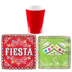 Mexican Fiesta Basic Party Kit
