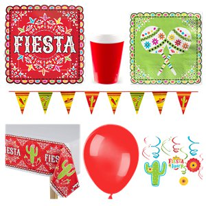 Mexican Fiesta Deluxe Party Kit