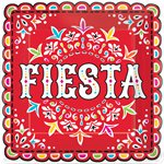 Mexican Fiesta Party Plates - 23cm Paper Plates