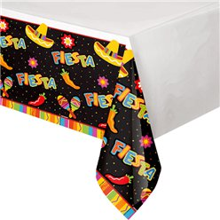 Fiesta Party Plastic Tablecover
