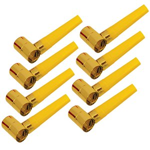 Gold Foil Party Blowers