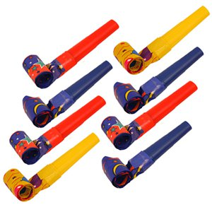 Jazzy Paper Party Blowers