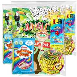 Jungle Value Pre-Filled Party Bags x 10