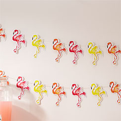 Flamingo Fun Bunting - 2.5m