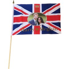 Royal Wedding Hand Flag - 45cm x 30cm