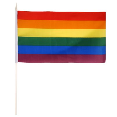 Pride Hand Waving Flag