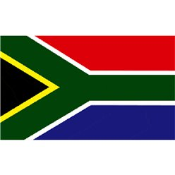 South African Cloth Flag - 5ft x 3ft