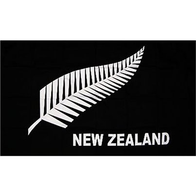 New Zealand All Blacks Cloth Flag - 5ft x 3ft