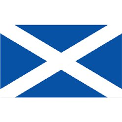 Scottish Cloth Flag - 5ft x 3ft