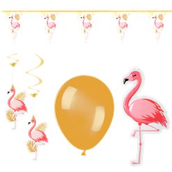 Flamingo Value Decoration Kit