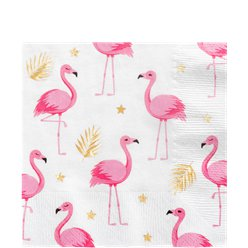 Flamingo Luncheon Napkins - 33cm