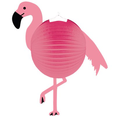 Flamingo Paradise Honeycomb Lantern Decoration