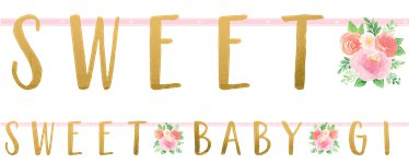 baby arrival banners decorations party delights