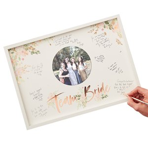 Floral Hen Party Guest Book