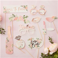Floral Hen Party Photo Booth Props