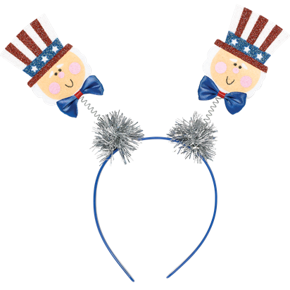 USA Top Hat Head Boppers  front