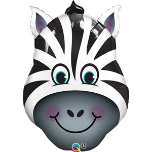 Birthday Zany Zebra Supersize Balloon - 32