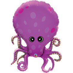 "Amazing Octopus Supershape Balloon - 35"" Foil"
