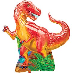 "Prehistoric Dinosaur Large Supershape Balloon - 31"" Foil"