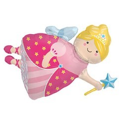 "Fairy Godmother Balloon - 36"" Foil"