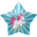 "Unicorn Star Balloon - 22"" Foil"