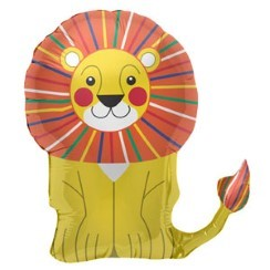 "Lion Supershape Balloon - 28"" Foil"