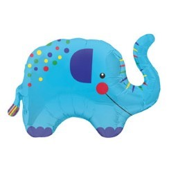 "Elephant Supershape Balloon - 36"" Foil"