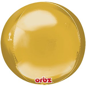 Gold Orbz Balloon - 16