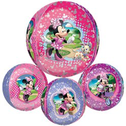 "Minnie Mouse Orbz Balloon - 16"" Foil"